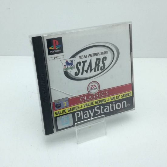 Gra THE F.A. PREMIER LEAGUE STARS 2000 PSX PS1 PL